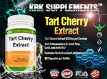 Tart Cherry Extract 900mg per serving 90 capsules KRK Supplements