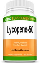 Lycopene 50mg 90 Capsules KRK Supplements