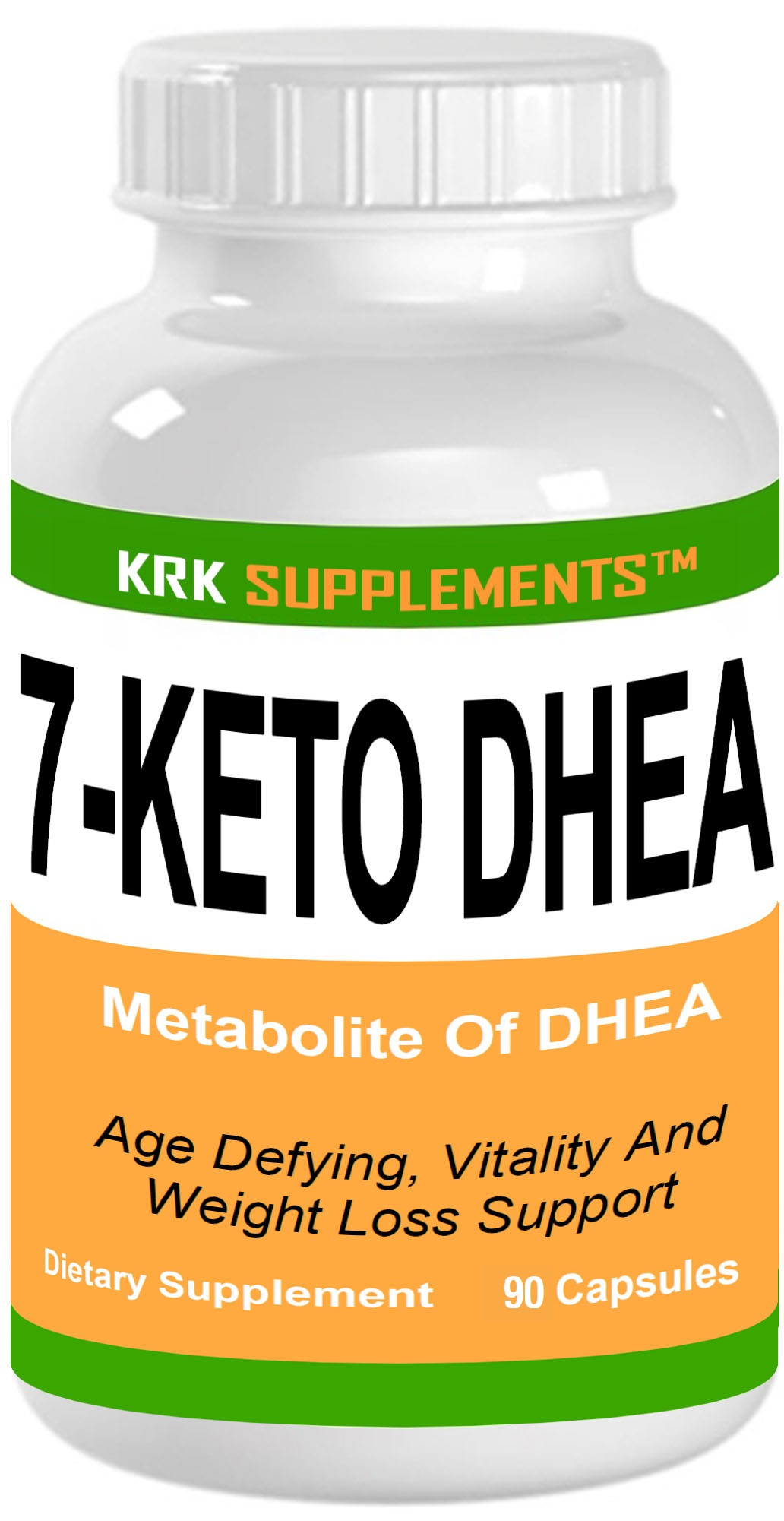 7-Keto DHEA 100mg 90 Capsules KRK Supplements